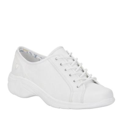 Nurse Mates Daisy Lace-Up Shoes (white)
