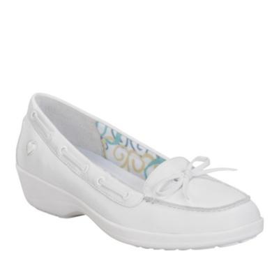 Nurse Mates Sara Slip-On Shoes (white)