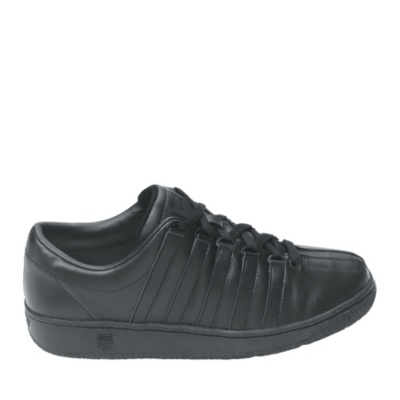 K-Swiss BLACK Classic Luxury (Men's) (black)