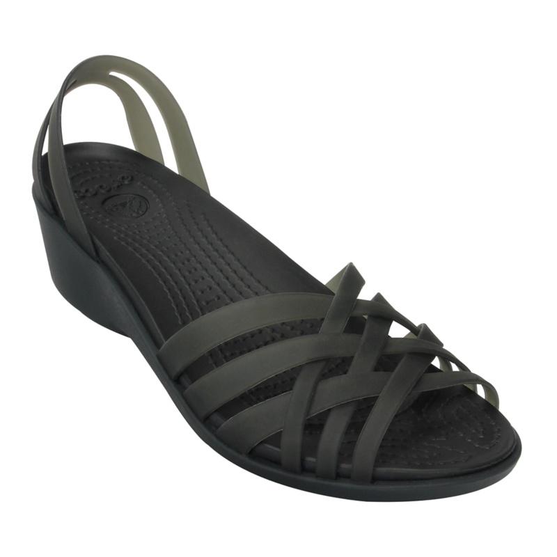 Crocs Huarache Mini Wedge Sandals