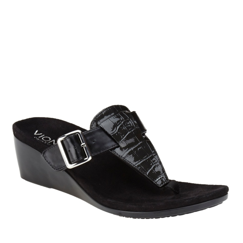 Vionic with Orthaheel Technology Alanis Wedge Sandals