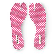 PedaBella Fabric Covered Gel Thong Sandal Insoles, Pair - 10820
